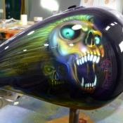 screaming skull tank