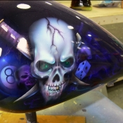 Skull 8ball Tank