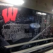 WI Wrestling Wall