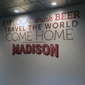 Madtown Gastro Wall vinyl