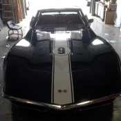 Corvette hood stripes
